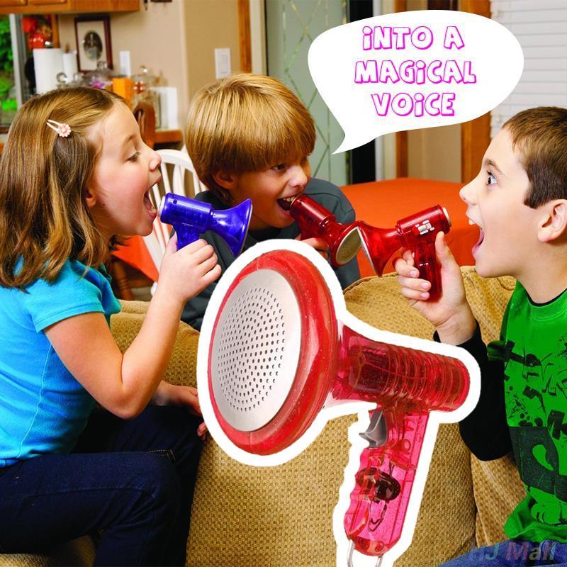 2017 LED Voice Changer Lustige Gadgets Laut Super Sound-effekte Streich Neuheit Spielzeug Für Kinder Kinder