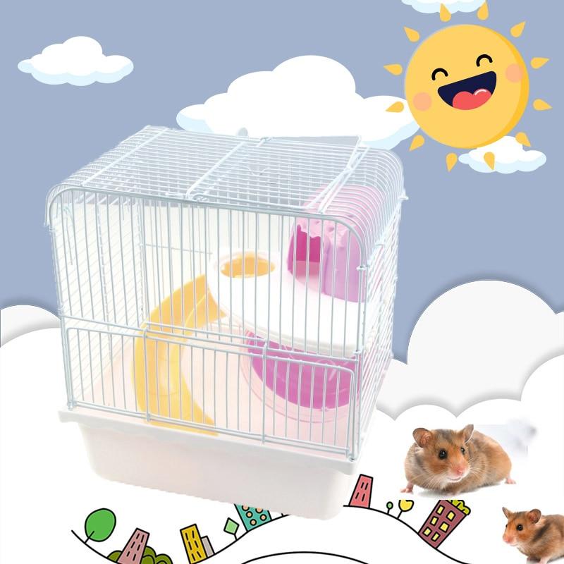 Venta caliente Niñas Princesa Hamster Jaula Pequeñas Mascotas - Productos animales