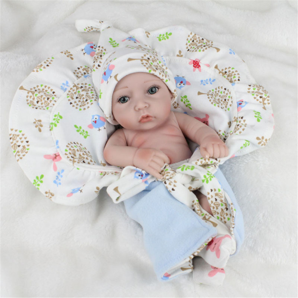 Silicone Reborn Baby Doll Toy Lifelike Reborn Baby Dolls Children Birthday Christmas Gift toys for Girls Brinquedos with Swaddle short curl hair lifelike reborn toddler dolls with 20inch baby doll clothes hot welcome lifelike baby dolls for children as gift