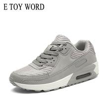 E TOY WORD 2019 Spring fashion women shoes Tenis Feminino  casual breathable mesh platform Ladies sneakers