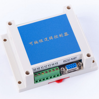 Programmable Logic Controller plc FX2N 14MR STM32 MCU 8 input 6 output AD input enclosure relay automatic control