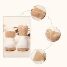 Warm Cotton Socks for Newborn, 5 Pairs Set