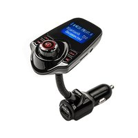 Y המקורי ערכת Bluetooth לרכב עם משדר FM דיבורית Bluetooth מקלט מטען לרכב כרטיס SD תמיכת מיקרו רכב סטיילינג