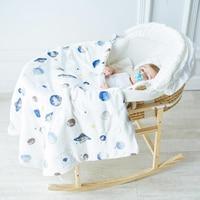 summer thin quilt blanket Baby blankets thicken quilt infant envelope stroller wrap for newborn baby bedding blanket