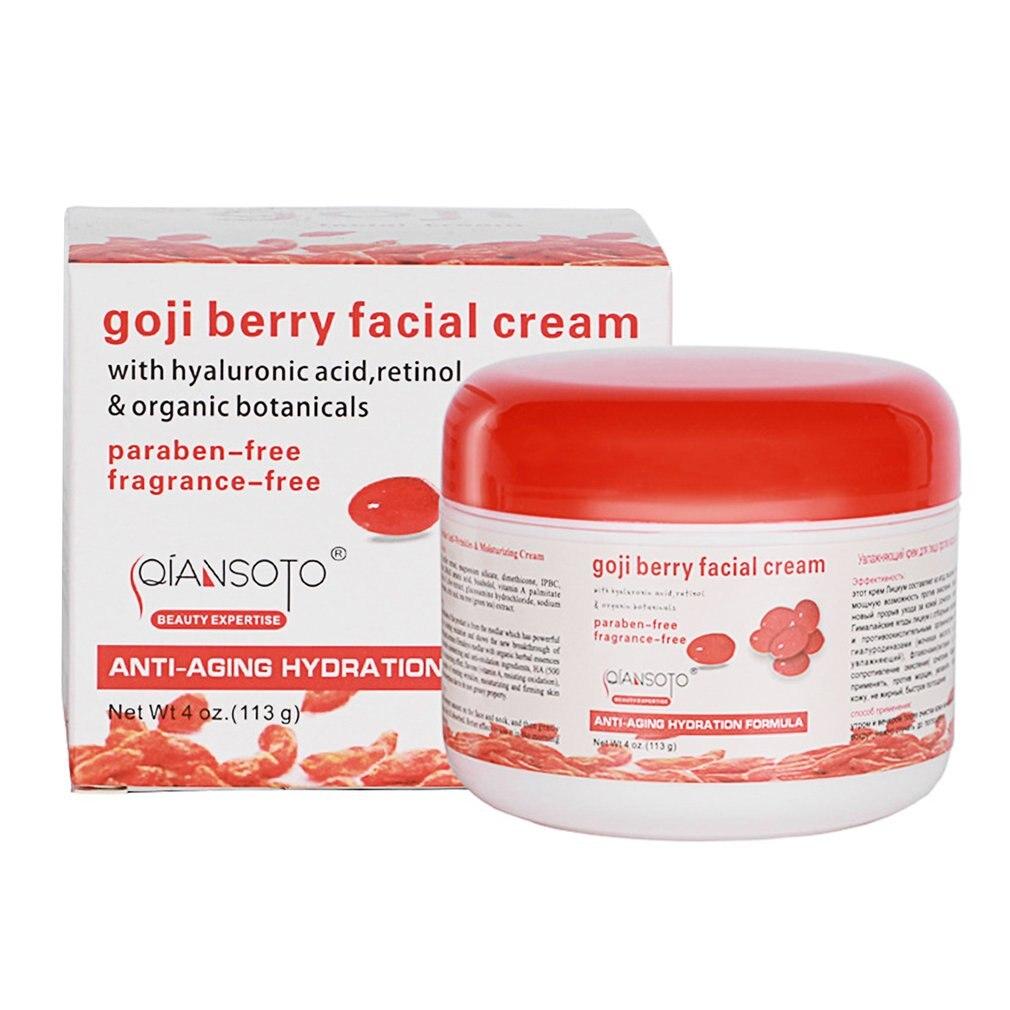 goji berry facial cream opiniones