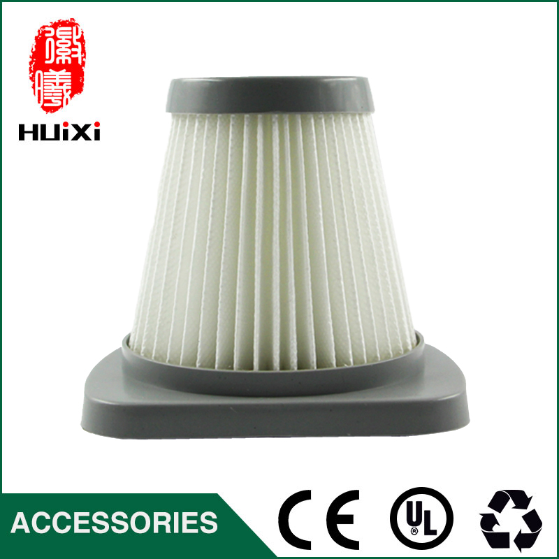 1 PCS 49*83mm size  White hepa filter for vacuum cleaner accessories and parts of filter element SC861 SC861A 142 126mm size plastic and steel wire frame hepa filter and the original of hepa vacuum cleaner parts for gy308 15l gy309 18l