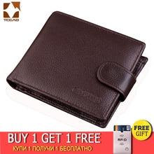 men's wallet made of genuine leather 2019 designer cow purse
