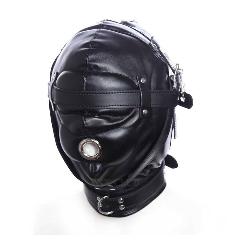 Thierry the Total Sensory Deprivation Hood, new sensory experience, Fetish bondage sex toys for couples adult games,4 styles sensory deception