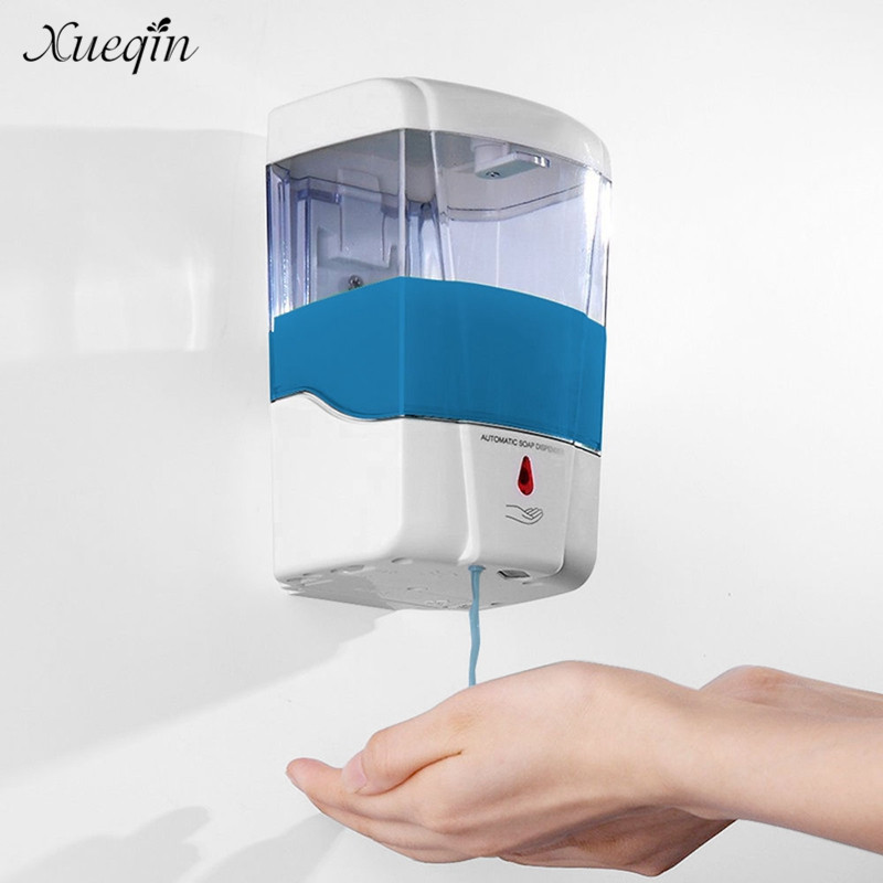 Xueqin 700 ml Automatische Sensor Badezimmer Seifenspender Touchless ...
