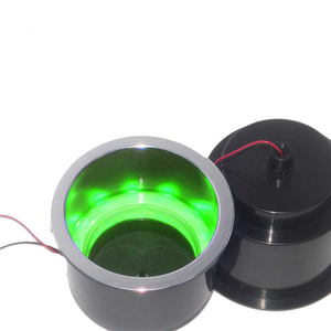 Image 4 - ABS Recessed Drinks Holder with RGB Light for Marine Boat Yacht RV Modified Vehicles