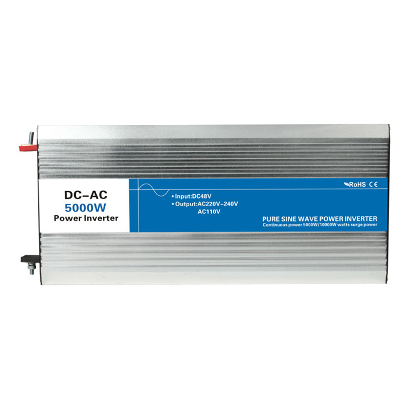 5000W pure sine wave inverter DC 12V/24V/48V to AC 110V/220V tronic power inverter circuits grid tie off cheap 12 24 48 V free shipping 600w wind grid tie inverter with lcd data for 12v 24v ac wind turbine 90 260vac no need controller and battery