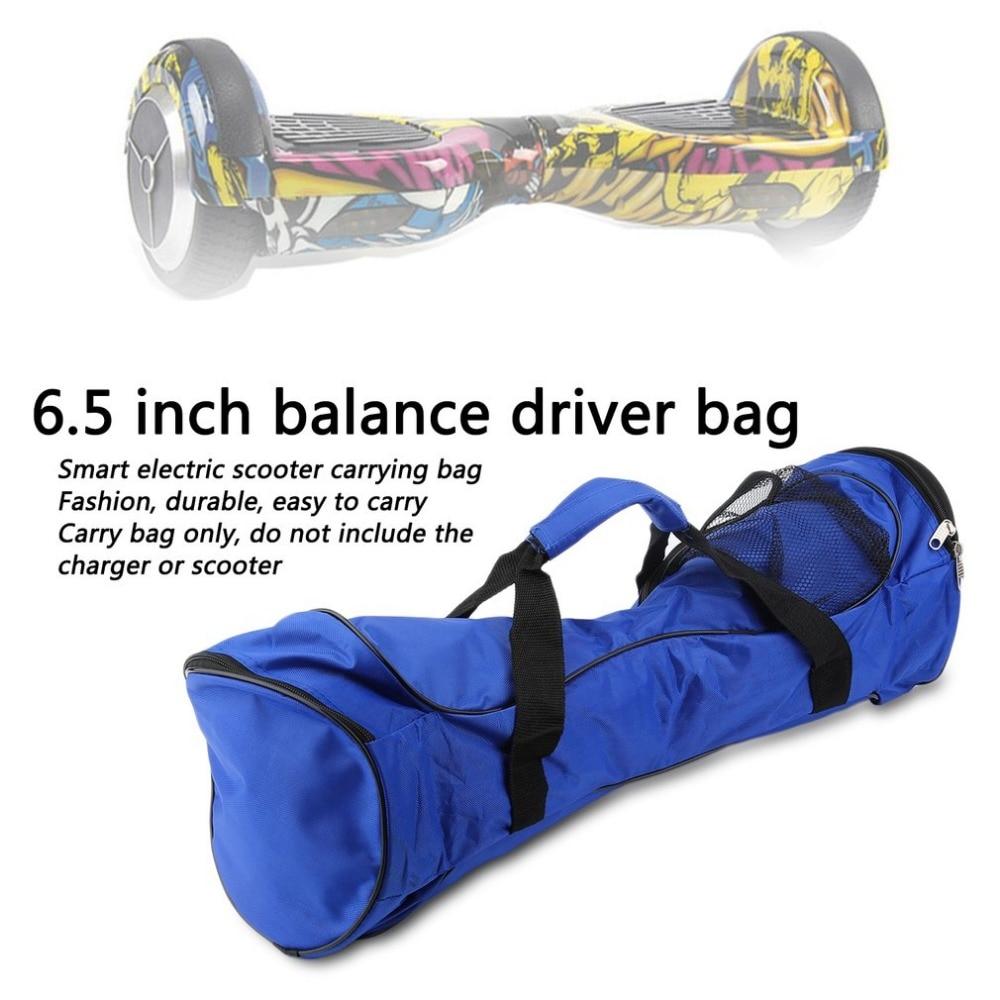 4.5inch Black Carrying Bag For 2 Wheels Self Balancing Electric Scooter Skateboard Smart Balance Sport Handbags Storage Bag New 100% Original Skate Board