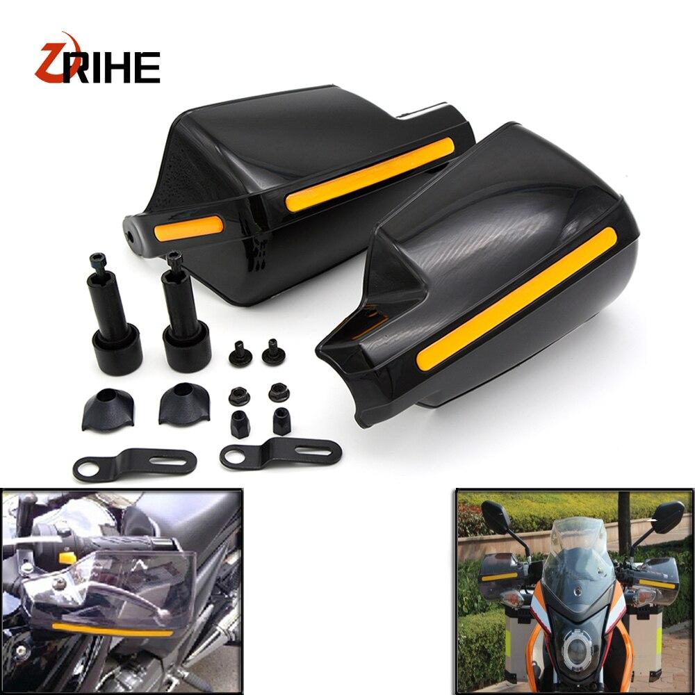 цена на Motorcycle wind shield Brake lever hand guard For Aprilia DORSODURO 1200 750 RST1000 FUTURA SHIVER GT with Hollow Handle bar