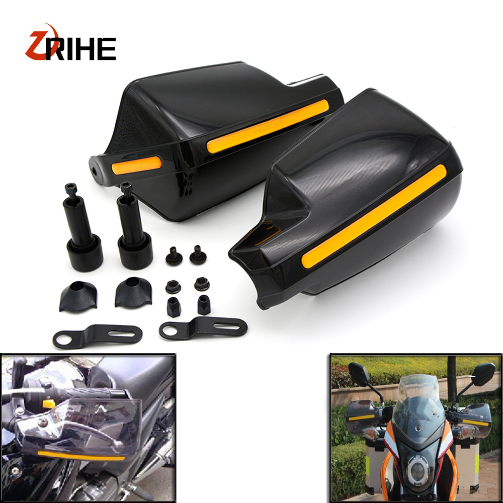 Motorcycle wind shield Brake lever hand guard For Honda CBR954RR NC700 NC750 S X PCX125 ST 1300 A with Hollow Handle bar motorcycle wind shield brake lever hand guard for benelli bn600 bn302 tnt300 tnt600 bn tnt300 302 600 gt with hollow handle bar