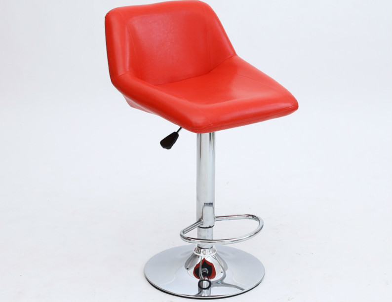 red color bar chair furniture fair hall stool free shipping warehouse computer stool office stool 240337 ergonomic chair quality pu wheel household office chair computer chair 3d thick cushion high breathable mesh