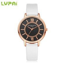Glorious High quality Lvpai 2017 Trend Quartz Watch Ladies Woman Roman Numerals Leather-based Band Wrist Bracelet Watches Relogios Mar 10