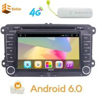 4G Dongle Car Stereo Bluetooth GPS DVD Double Din In Dash Sat Navigation Vehicle Head Unit