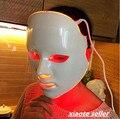 Luzes coloridas de LED Fóton equipamento da beleza Casa Fazer a pele delicada Beleza do Rejuvenescimento Dessalinização Branqueamento máscara Facial