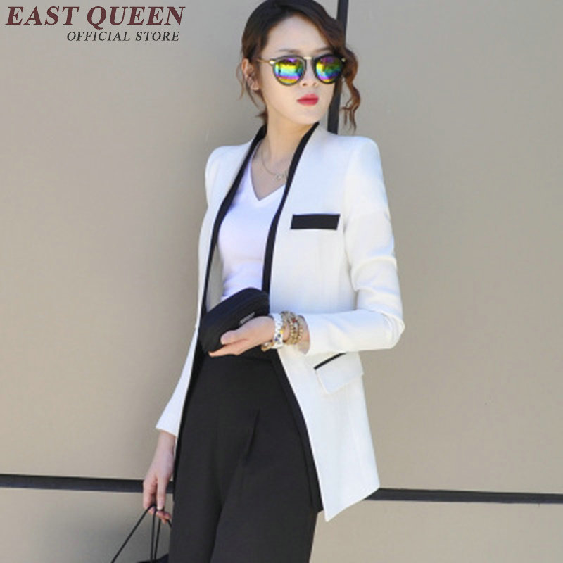 Ladies Blazers Elegant Fashion Ladies Blazers 2018 Business Office Female Blaser 2018 New Arrivals Business Suit Female  AA1197