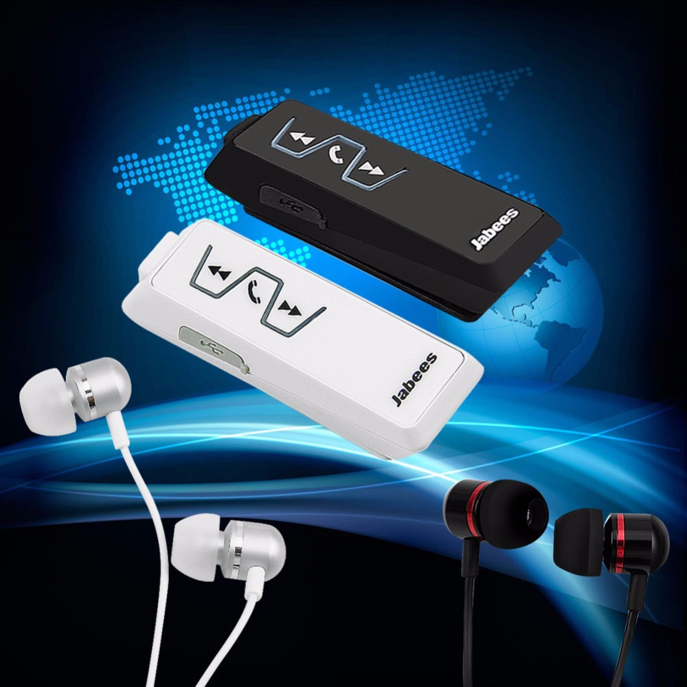 OOTDTY In-Ear Earphone Jabees is901 Stereo Bluetooth Headset For iPhone Samsung PAD