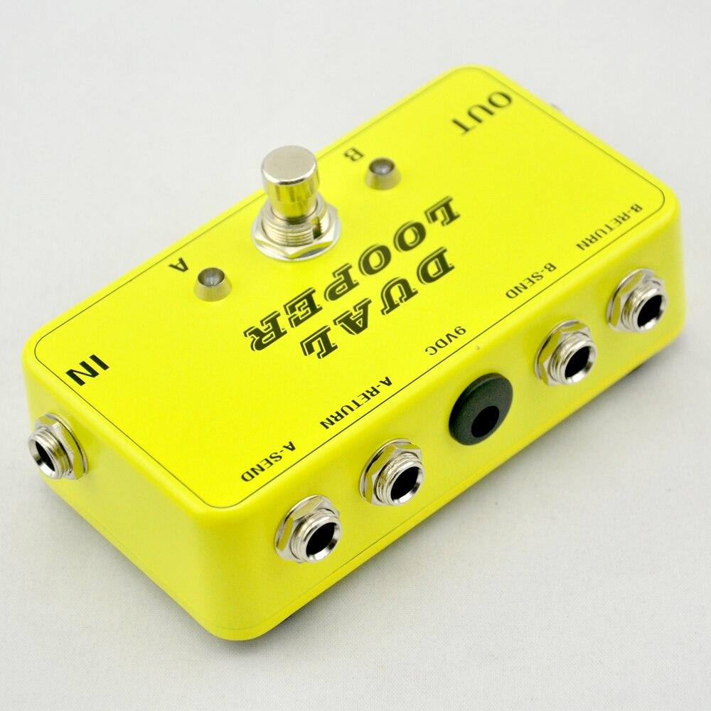Nieuw True-Bypass Looper effectpedaal Gitaareffect Pedal Looper - Muziekinstrumenten - Foto 3