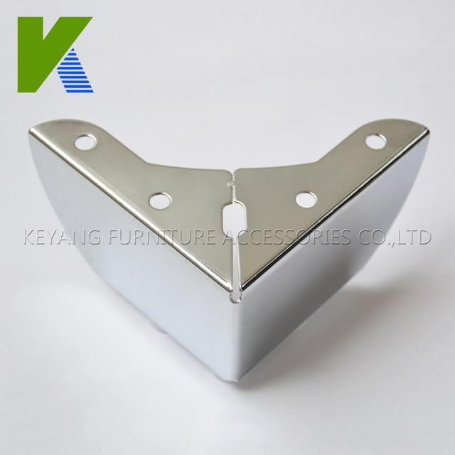 Low Price Metal Chrome Furniture Sofa Legs Cabinet Legs KYE007 1