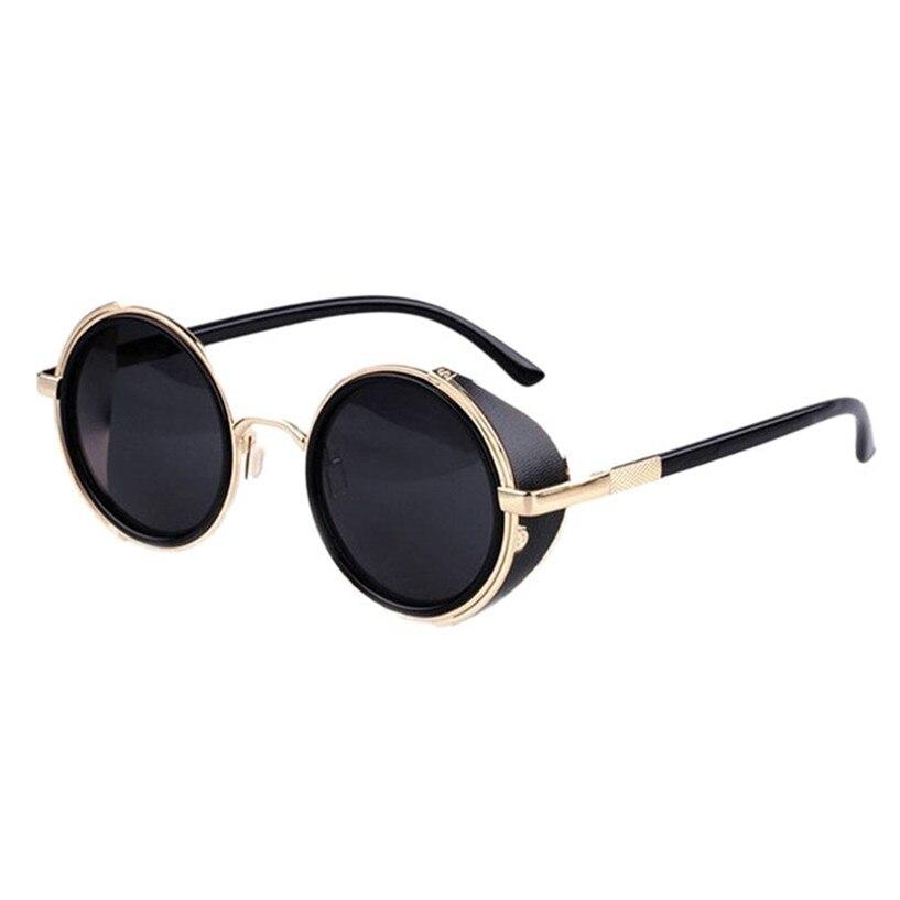 Сказочный 2017 солнцезащитные очки женщины Мужчины Старинные Ретро Зеркало Стимпанк мужские женские Солнцезащитные Очки Брендовые очки для зрения