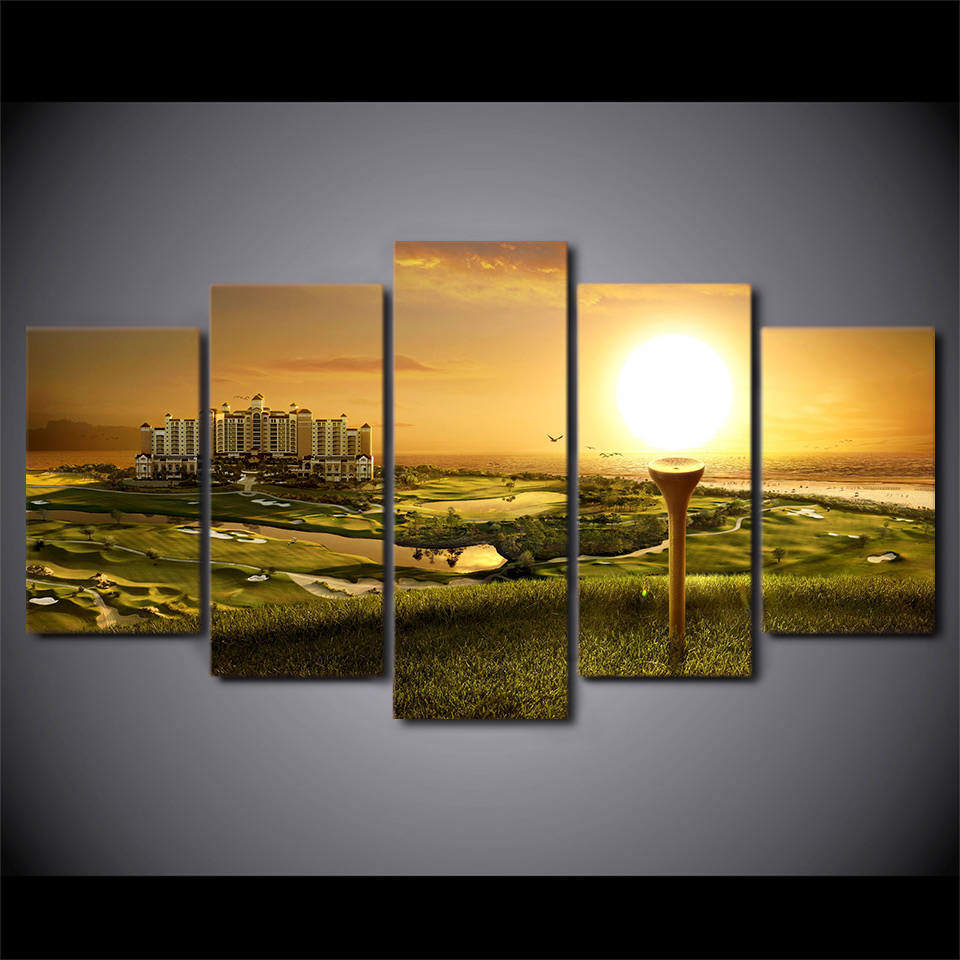 Unique Golf Metal Wall Art Picture Collection - The Wall Art ...