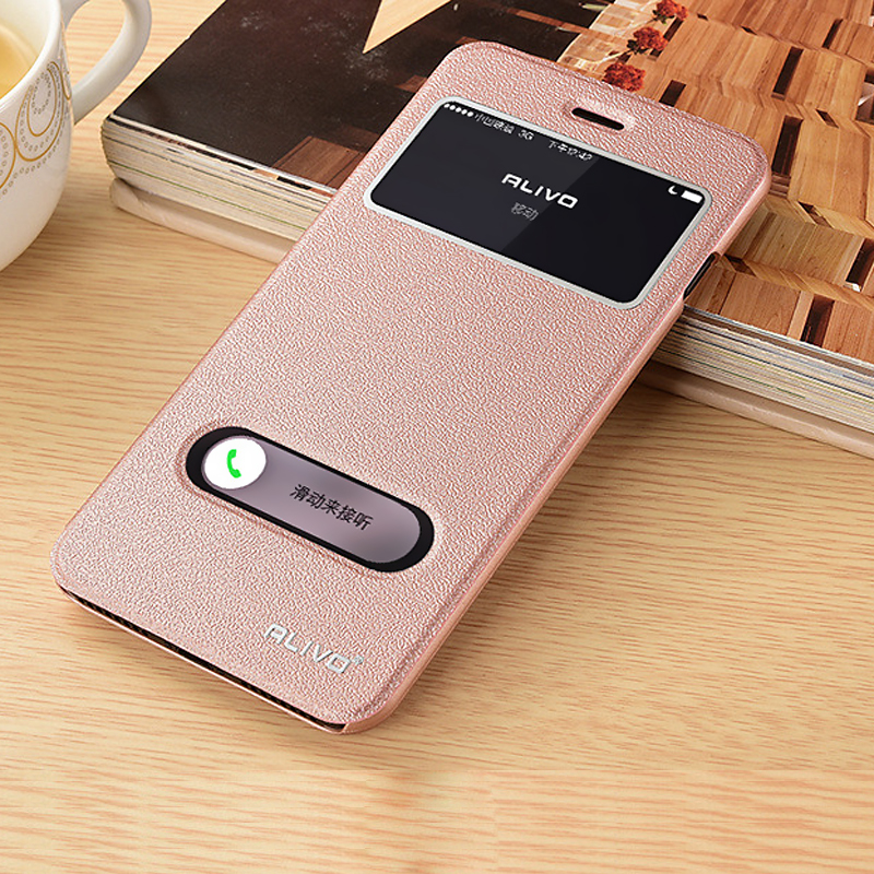 iphone flip phone case alivo for iphone 7 7 plus 6s plus 5 4 pu leather flip 15266