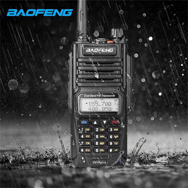 Baofeng UV-9R Plus Walkie Talkie IP67 Waterproof Master Speaker  CB Radio FM Transceiver UHF/VHF Radio 10W 4800mAh Uv 9r Plus