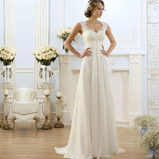 Aliexpress.com : Buy 2016 Elegant Simple cheap Wedding Dresses ...