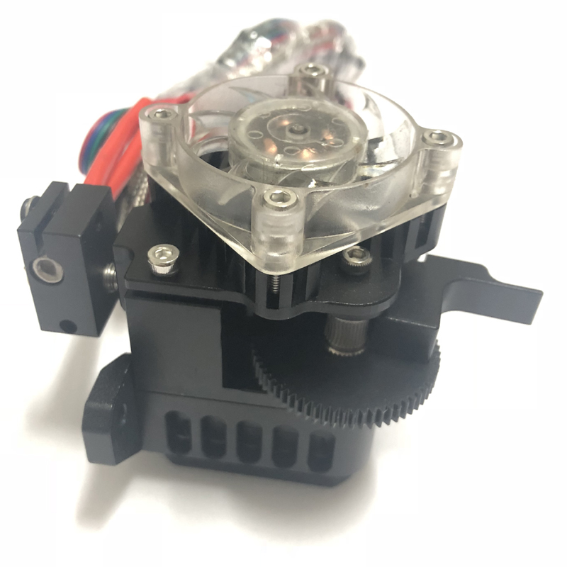 3D printer Prusa i3 extruder with moto and Heat sink compatible with E3D Titan Aero MK2