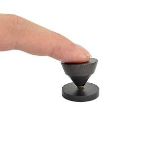 Image 2 - AIYIMA 4 sets Aktive Lautsprecher Spikes Stand Füße Audio Lautsprecher Reparatur Teile Zubehör Plattenspieler 23x19mm DIY Für heimkino