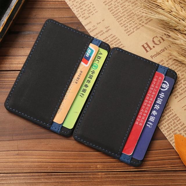 JINBAOLAI Slim Male Magic Wallet Scrub PU Leather Purse High Quality Carteira Magica Masculina Porte Monnaie Small Wallets 2018 4