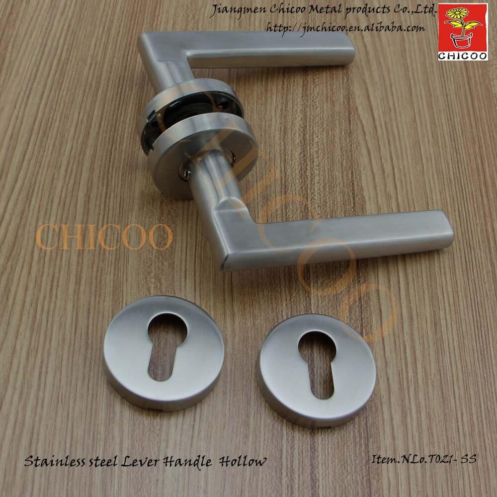 door ironmongery stainless steel 304 Door lever Handles, Entry door ...