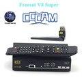 Melhor V8 Super receptor de internet via satélite receptor usb suporte satélite wifi 3g dongle dvb-s2 Newcam + 1 ano Europa Cccam cline