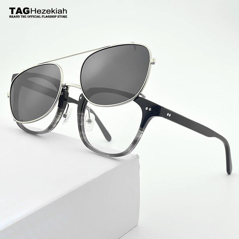 Women's Glasses 2019 New Brand Glasses Frame For Man And Women Plain Glasses Eyeglasses Frame Sun Glasses Spectacle Clip Sunglasses Uv400