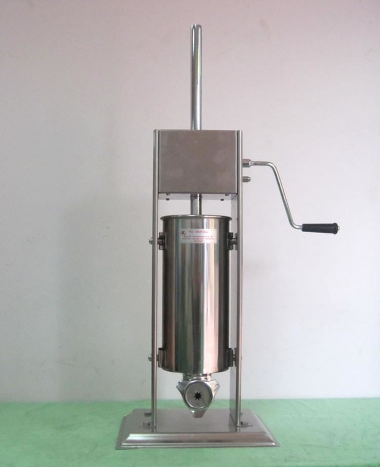 5L Stainless Steel Manual Vertiacal Churro Making Machine for Sale fast food leisure fast food equipment stainless steel gas fryer 3l spanish churro maker machine