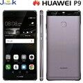 Huawei p9 leica câmera dupla 4g telefone móvel lte huawei kirin 955 Octa núcleo 2.5 GHz 4 GB Ram 64 GB Rom 5.2 polegada 1920 * 1080pix tela
