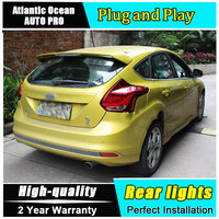 JGRT 2012 2014 For Ford Focus 2 LED Taillights Rear Lights Parking For Ford Focus Foglights