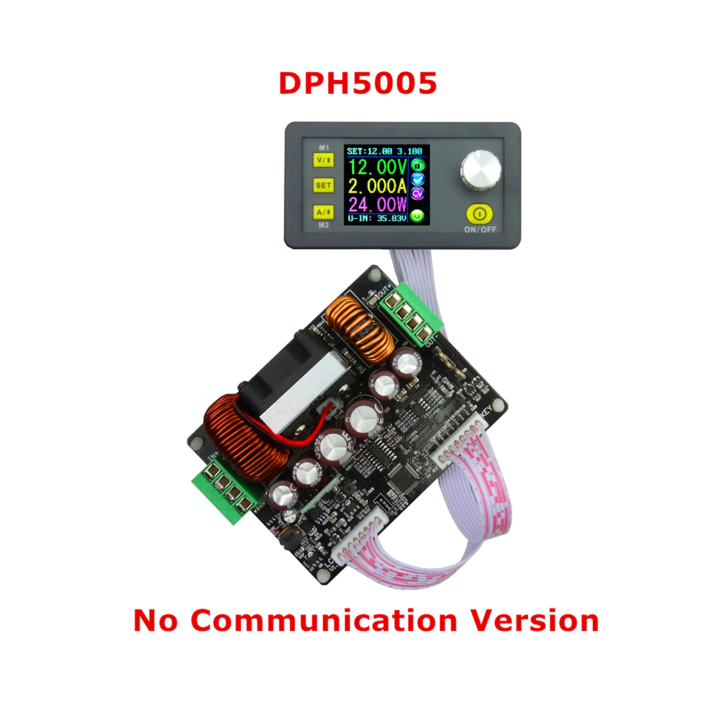 DPS3005 Constant Voltage Current Step-down Programmable Control Supply Power Module Buck Voltage Converter Color LCD Voltmeter solar energy wind power regulator charging automatic buck voltage constant voltage constant current adjustable power supply