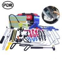 PDR Tools Hooks Spring Steel Push Rods Dent Removal Car Dent Repair Car Body Repair Kit