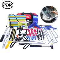 PDR Tools Hooks Spring Steel Push Rods Dent Removal Car Dent Repair Car Body Repair Kit
