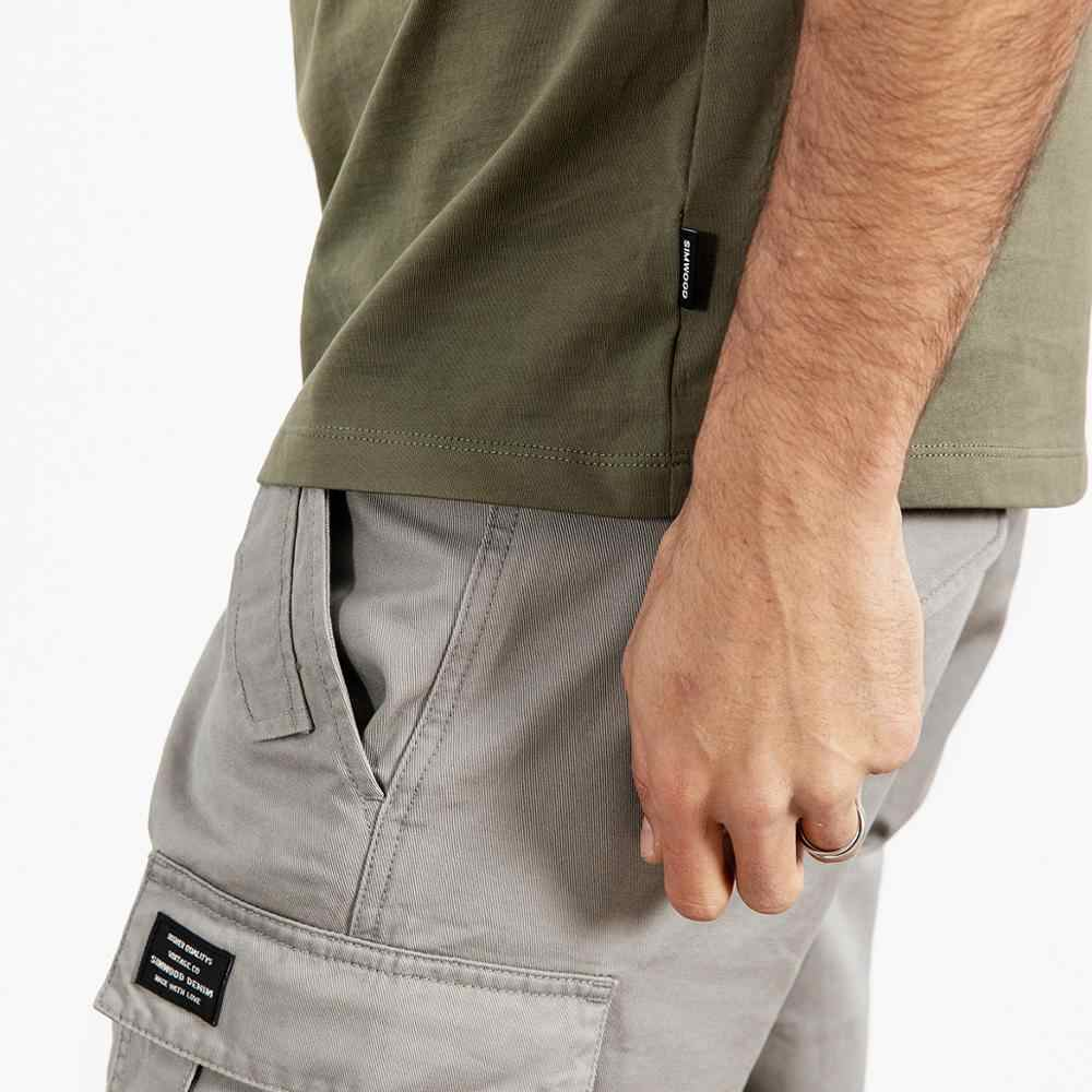 SIMWOOD футболка мужская с коротким рукавом летняя новая футболка с буквенным принтом Мужская 100% хлопок высокое качество плюс размер Винтажная Футболка 190137
