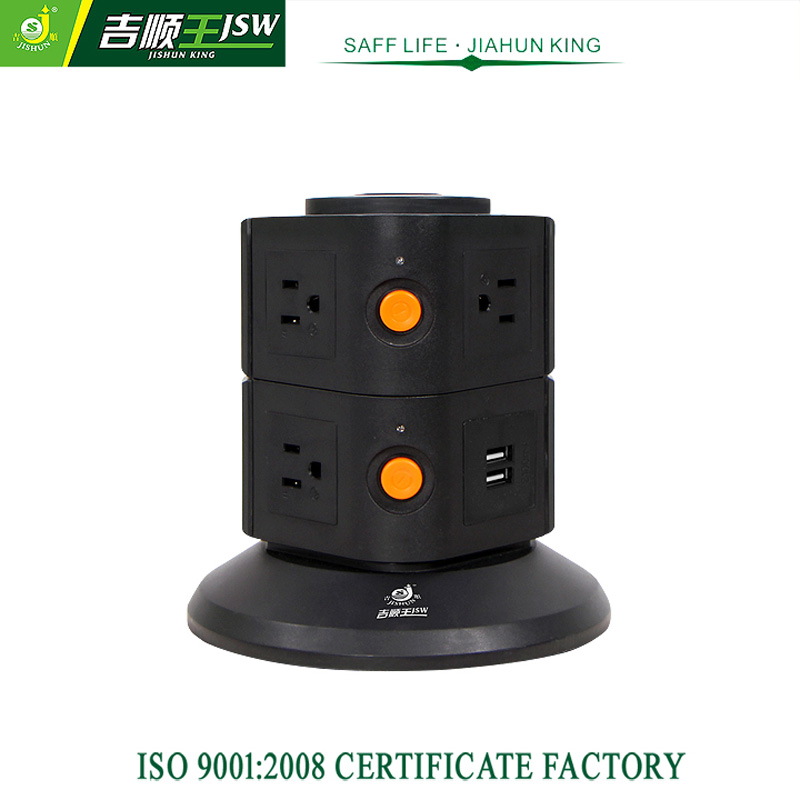 Portable US Power Strip American Outlet USB Electrical Plugs 110V ...