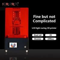 IGRARK LCD light curing 3D printer SLA /DLP photosensitive resin jewelry hand model printer