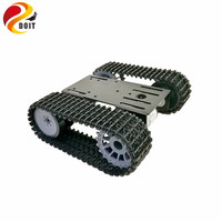 2018 New mini TP101 Smart Tank Chassis Tracked Chassis Remote Control Platform with Dual DC Motor for Arduino Graduation