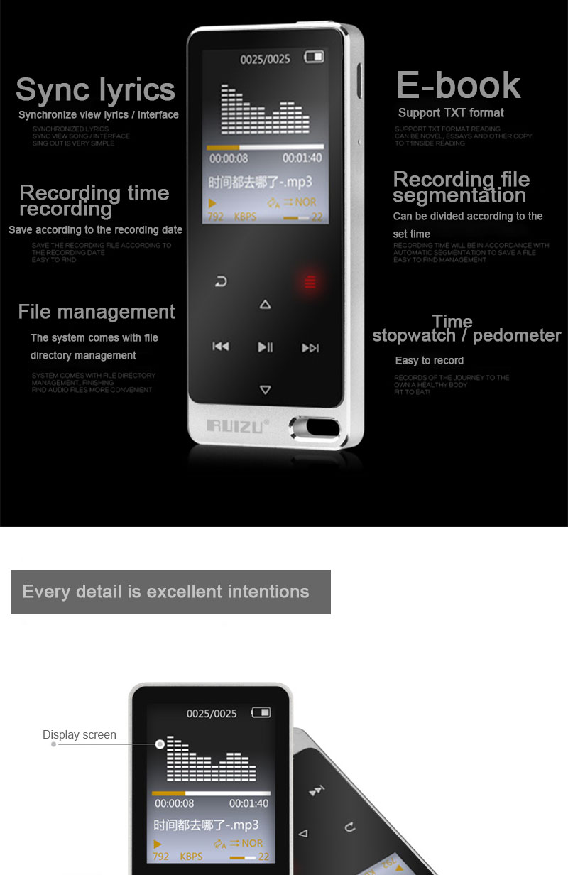 satan MP3 En RUIZU 8
