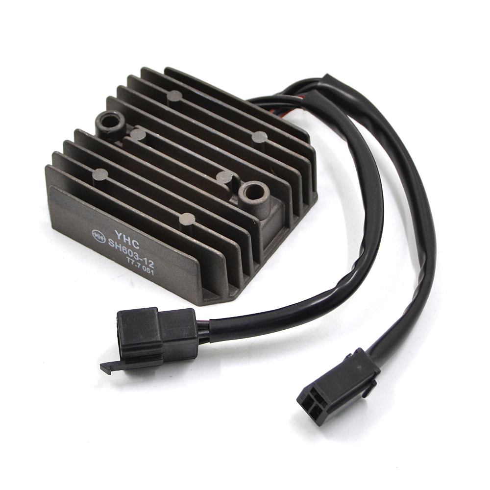 Motorcycle Metal Voltage Regulator Rectifier For Honda Steed 400 VF 750 C CD C2 MAGNA DELUXE VT 600 C CD CD2 SHADOW VLX CH250 53000459