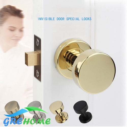 все цены на 304 stainless steel one side invisible door locks invisible background wall door handle lock for interior doors hardware онлайн
